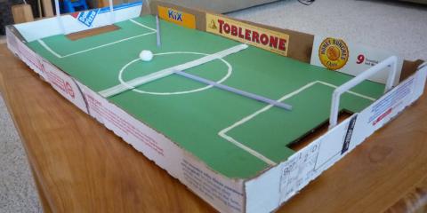 Fussball und Pizza - der ideale Männerabend
